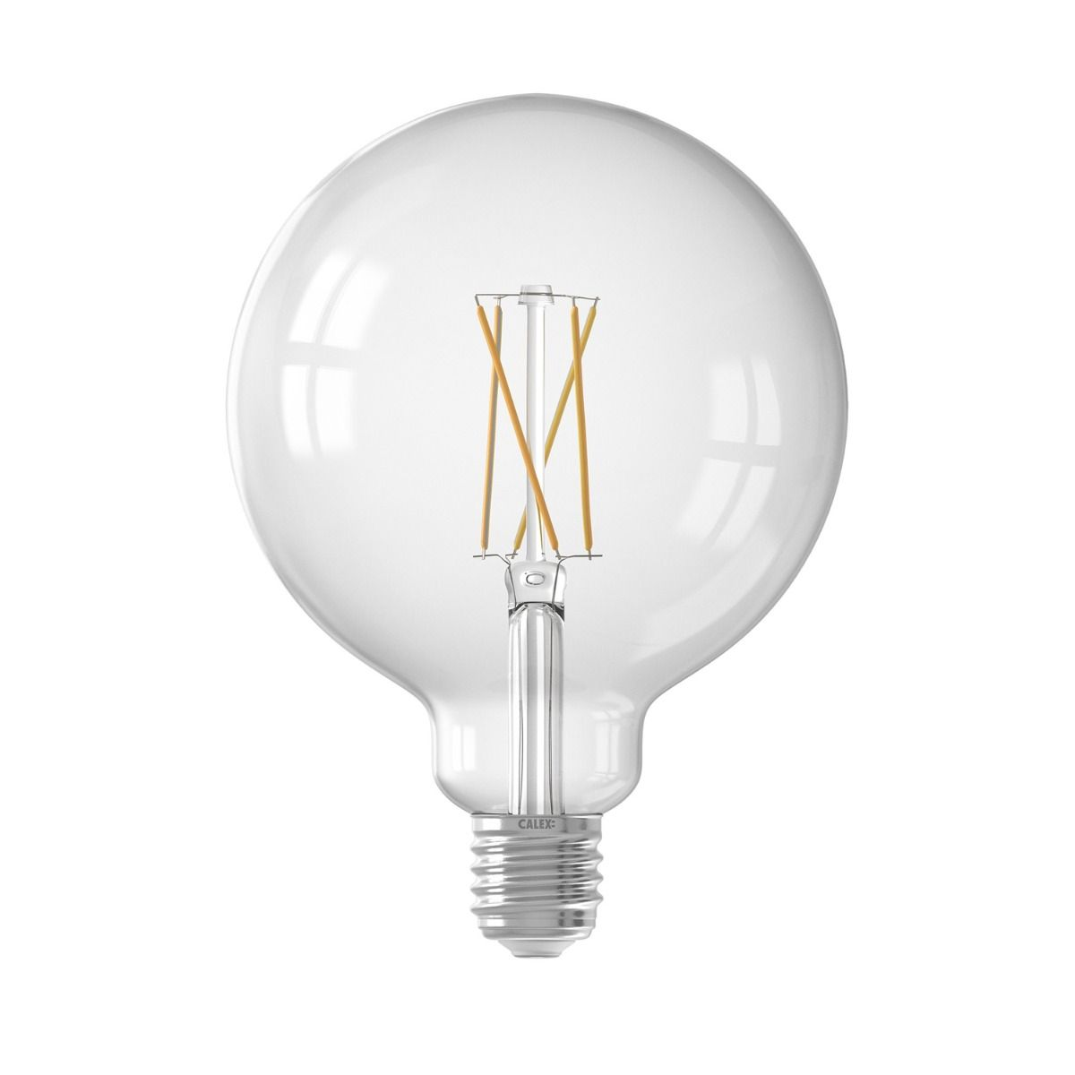 Calex Smart Globe G125 E27 7,5W 1055lm 1800-3000K Fadenlampe   Tuya Wifi