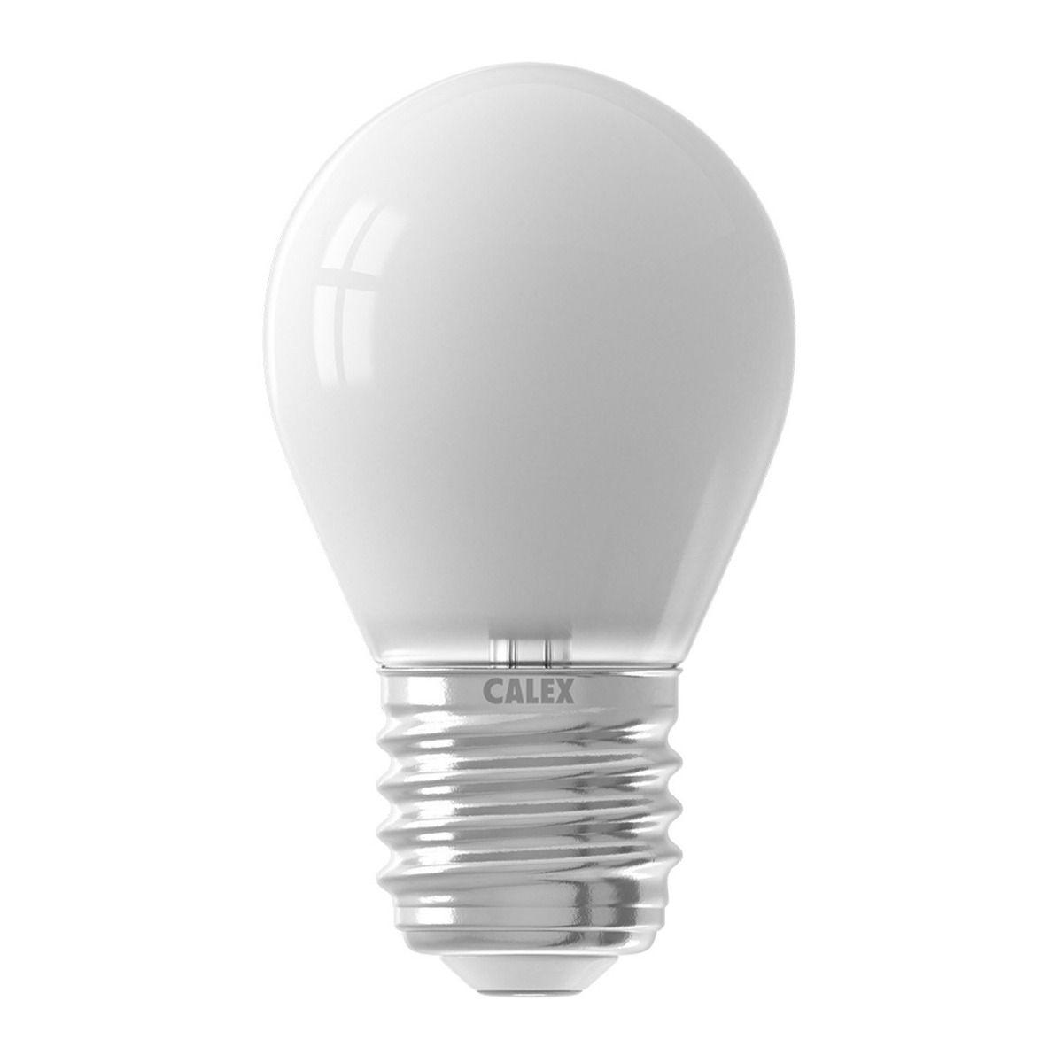 Calex Smart Kogelvormig LED Lamp E27 4,5W 400lm 2200-4000K | Tuya Wifi - Afstembaar Wit