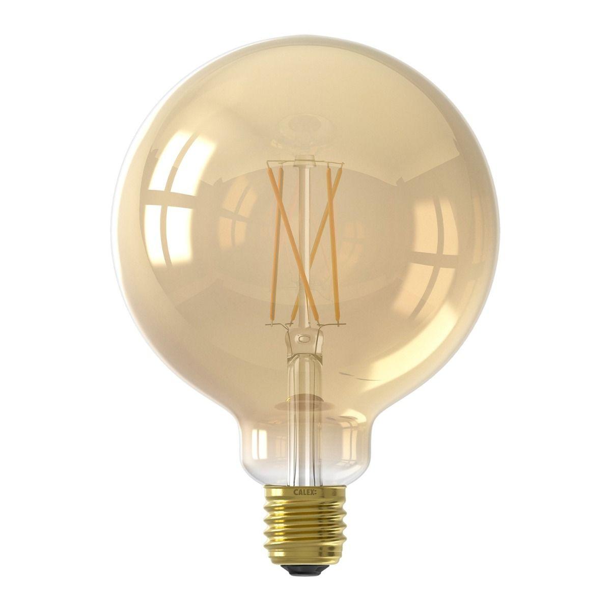 Calex Smart Globe G125 LED Glühbirne E27 7W 806lm 1800-3000K Fadenlampe | Tuya Wifi