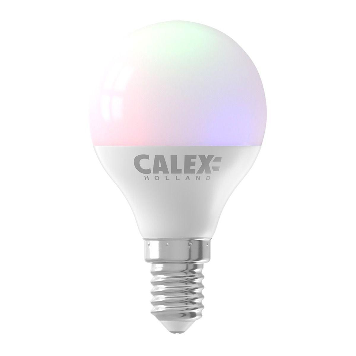 Calex Smart Kugelförmig LED Glühbirne E14 5W 470lm 2200-4000K | Tuya Wifi