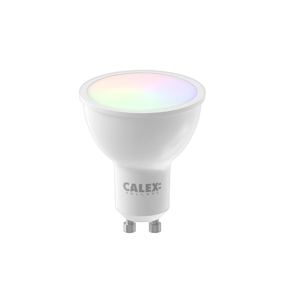 Calex Smart Reflector LED Spot GU10 5W 345lm 2200-4000K | Tuya Wifi - Afstembaar Wit