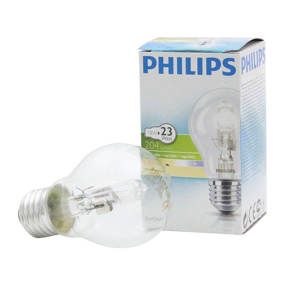 Philips EcoClassic 18W E27 230V A55 Clear