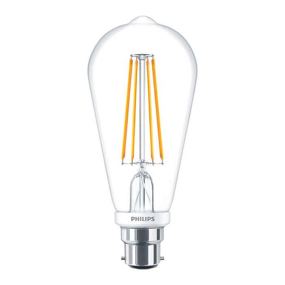 Philips Classic LEDbulb B22 7W 827 ST64 Filament | Dimmable - Remplacement 60W