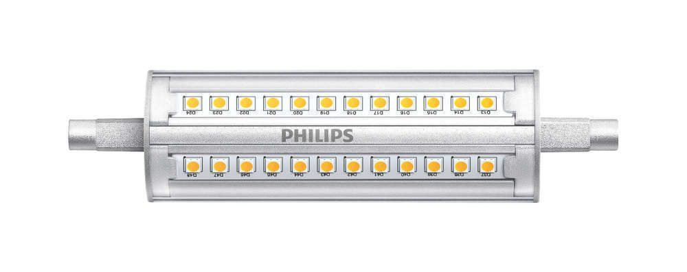 Philips CorePro R7s 14W 830 118mm | Dimbaar - Vervangt 100W