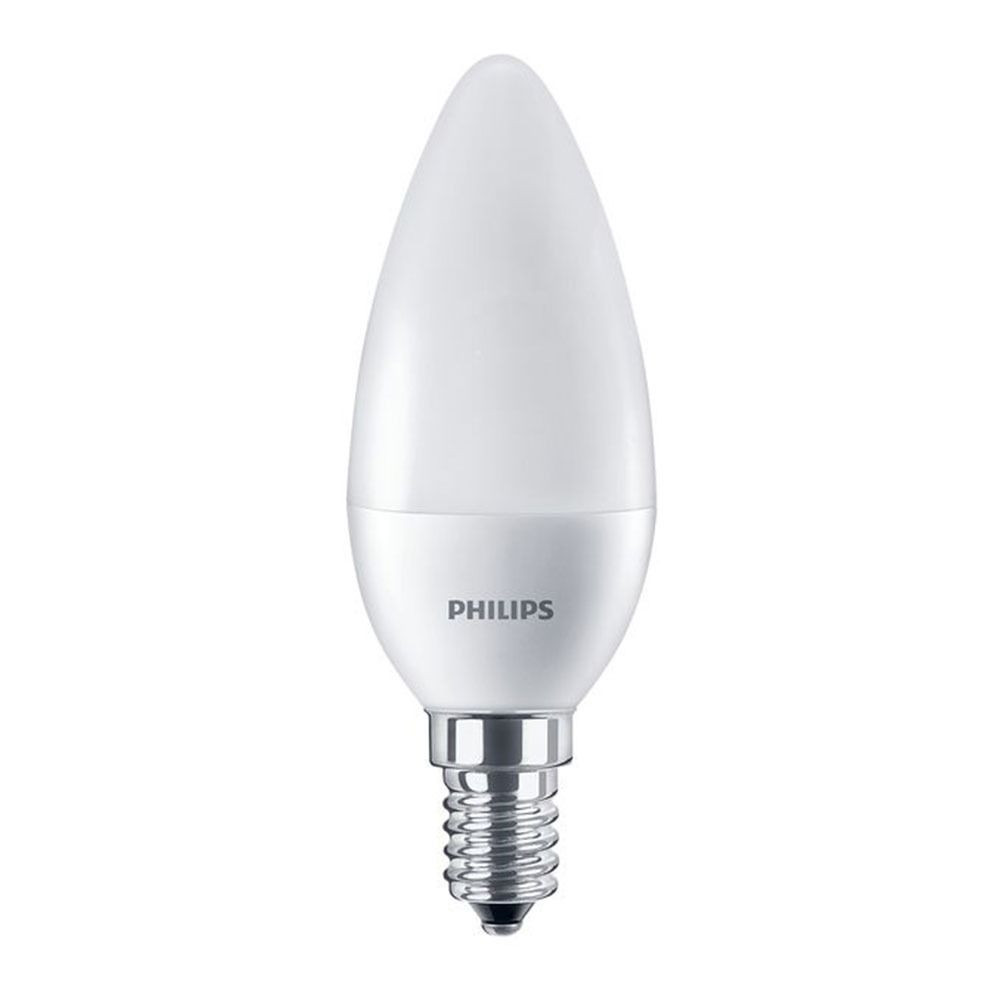Philips CorePro LEDcandle E14 B38 7W 827 Frosted | Replaces 60W