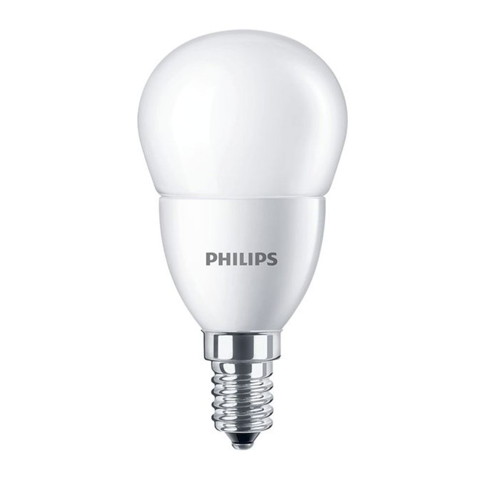 Philips CorePro LEDlustre E14 P48 7W 827 Frosted | Replaces 60W