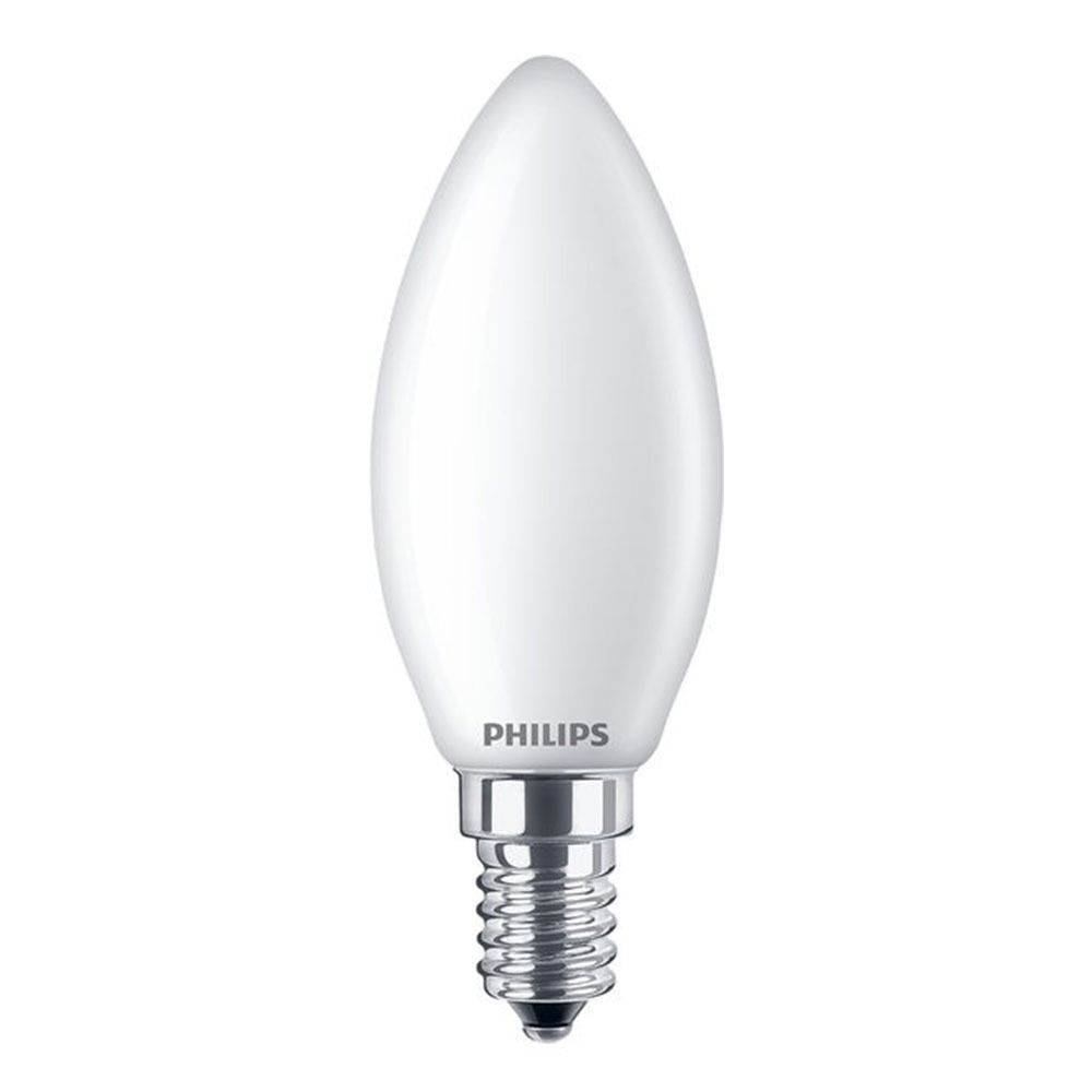 Philips Classic LEDcandle E14 B35 4.3W 827 Frosted | Replaces 40W