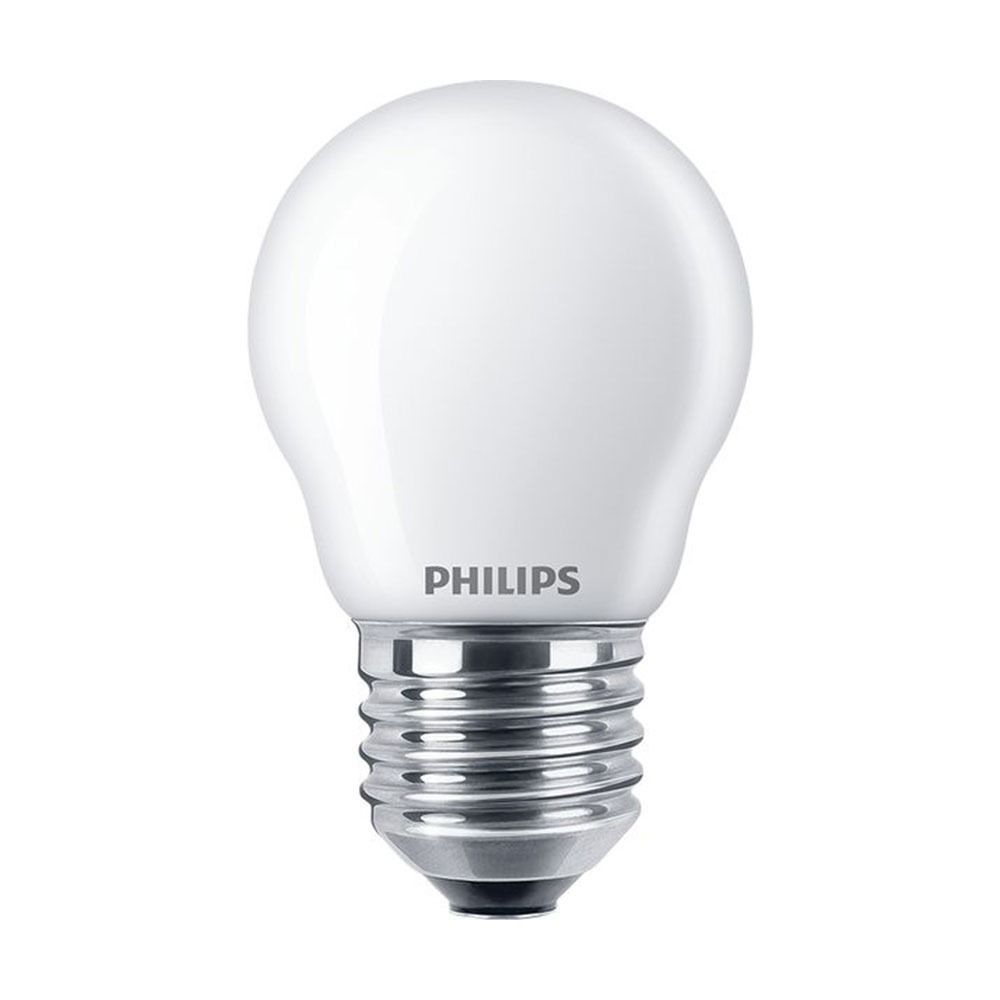 Philips Classic LEDlustre E27 P45 2.2W 827 Frosted | Replaces 25W