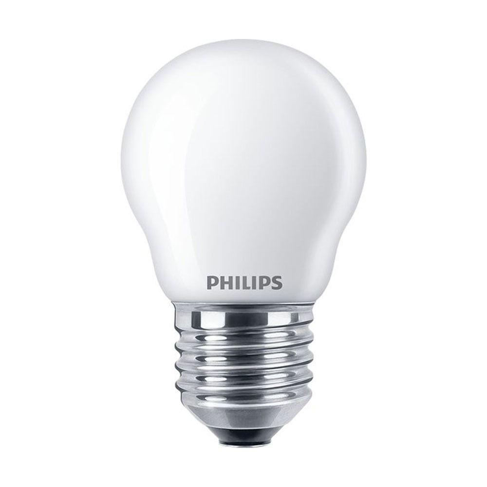 Philips Classic LEDlustre E27 P45 2.2W 827 Matt | Ersatz für 25W