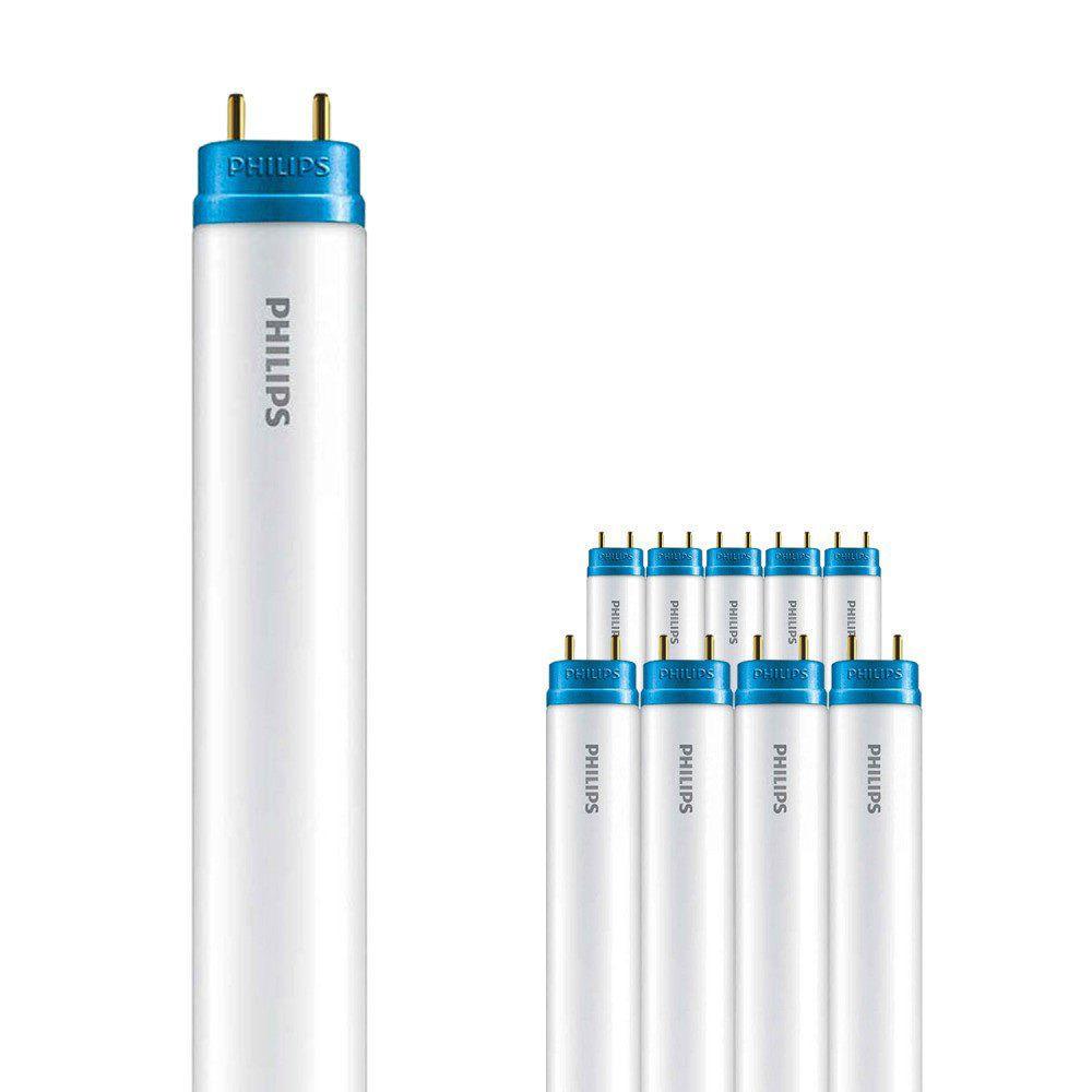 Flerpack 10x Philips CorePro LEDtube EM 20W 840 150cm | Kallvit - LED Glimtändare inkl. - Ersättare 58W