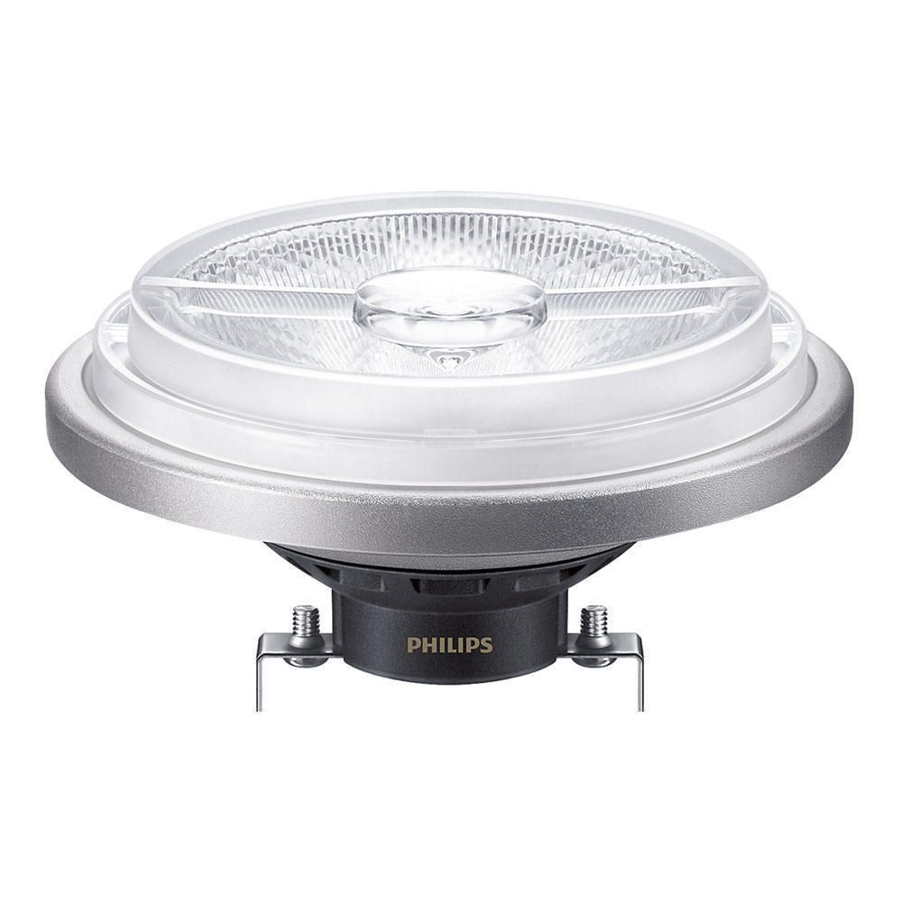 Philips LEDspot LV G53 AR111 12V 20W 827 40D (MASTER) | Extra Warm White - Dimmable - Replaces 100W