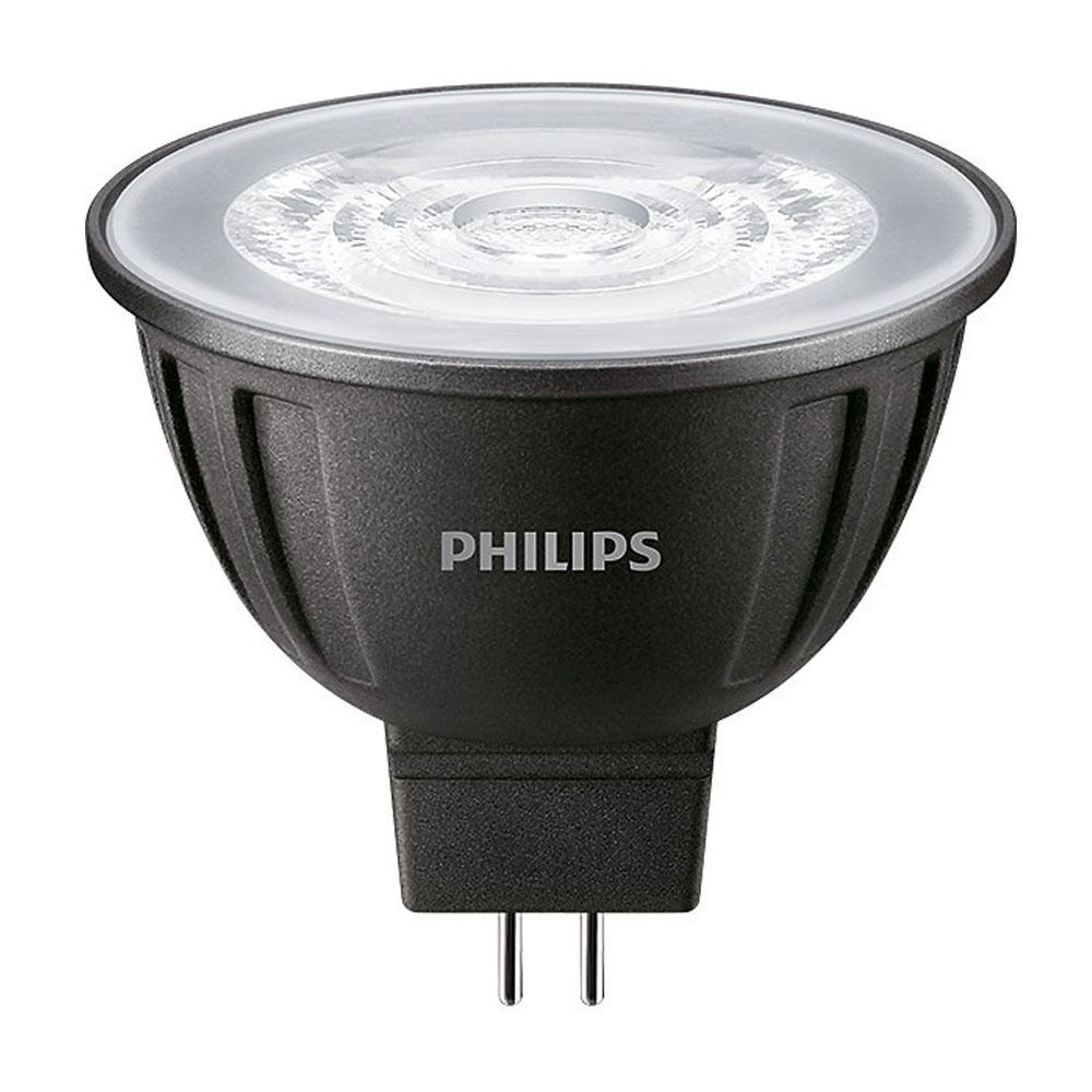 Philips LEDspot LV GU5.3 MR16 8W 840 24D MASTER | Dimmable - Replaces 50W