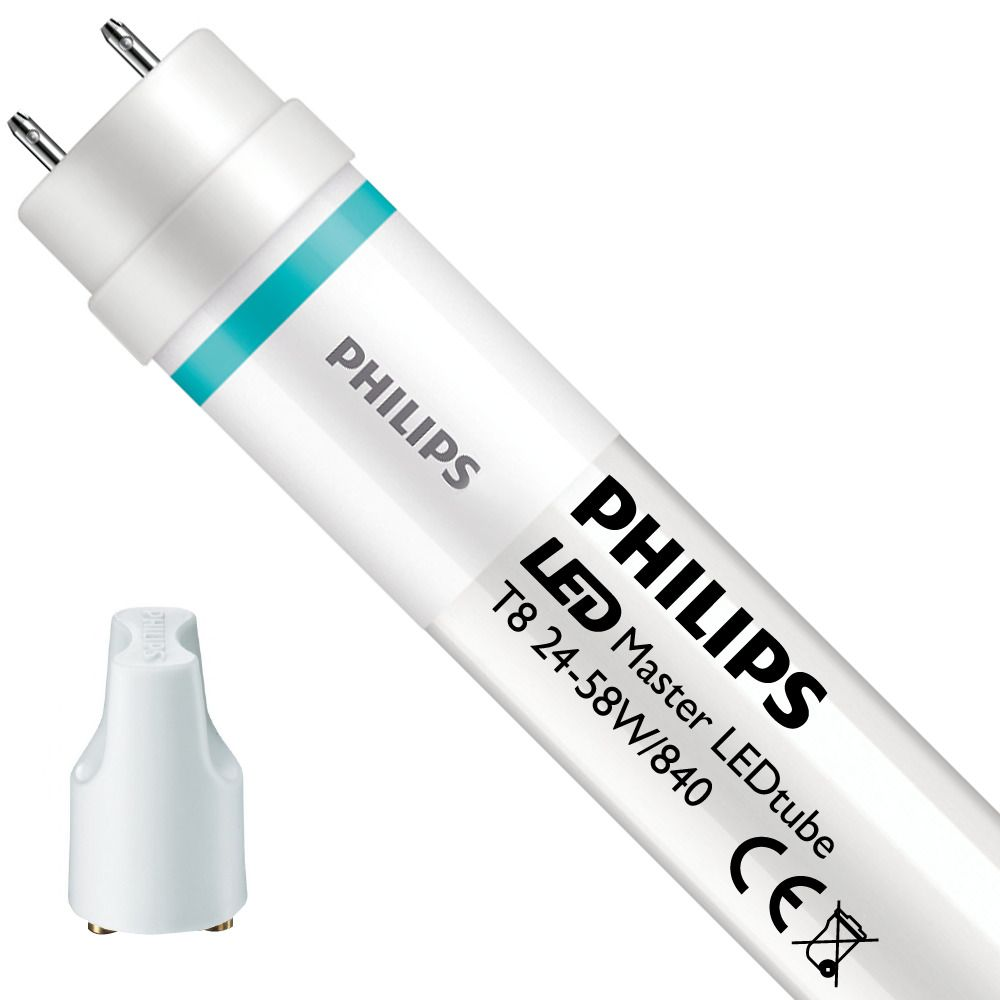 Philips LEDtube EM UO 24W 840 150cm (MASTER Value) | Cool White - incl. LED Starter - Replaces 58W