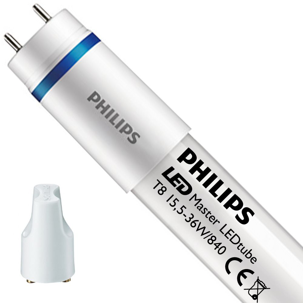 Philips LEDtube EM UO 15.5W 840 120cm (MASTER) | Cool White - incl. LED Starter - Replaces 36W