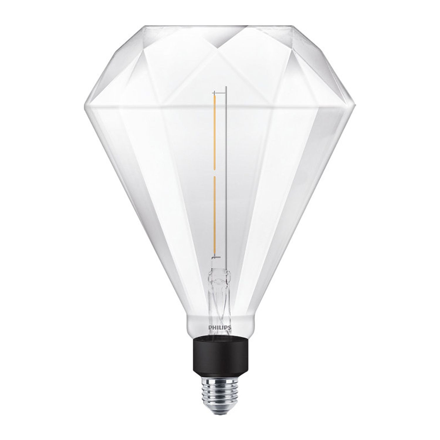 Philips LED Diamond Giant E27 4W 830 | Warm White - Dimmable - Replaces 35W