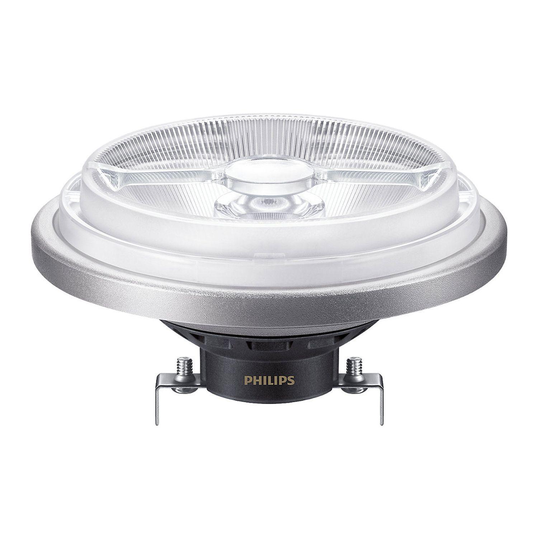 Philips LEDspot ExpertColor G53 AR111 (MASTER) 11W 930 8D | Dimmable - Meilleur rendu de couleur - Remplacement 50W