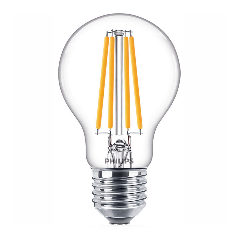 Philips Classic LEDbulb E27 A60 10.5W 840 Fadenlampe | Ersatz für 100W