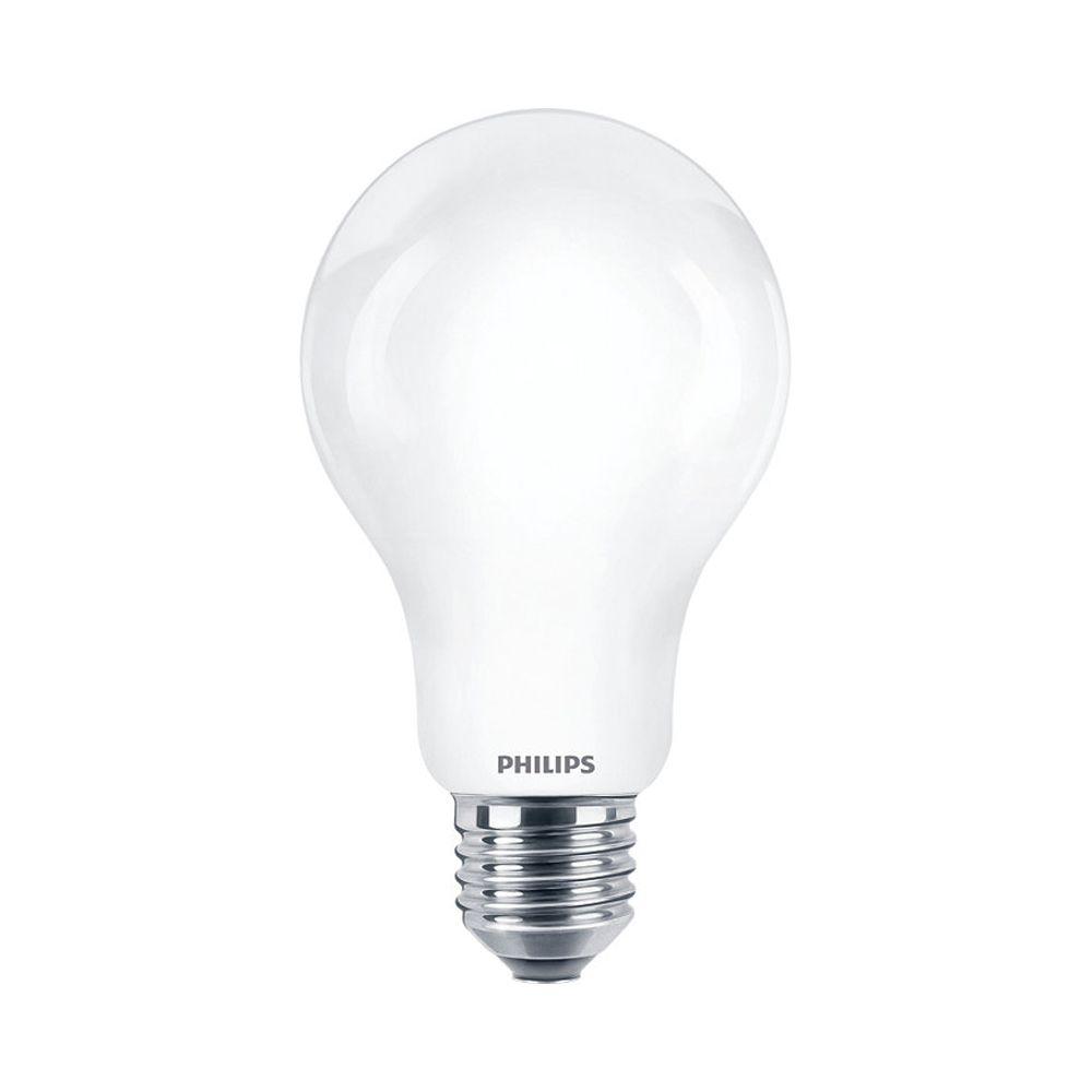 Philips Classic LEDbulb E27 A67 17.5W 840 2452lm | Koel Wit - Vervangt 150W