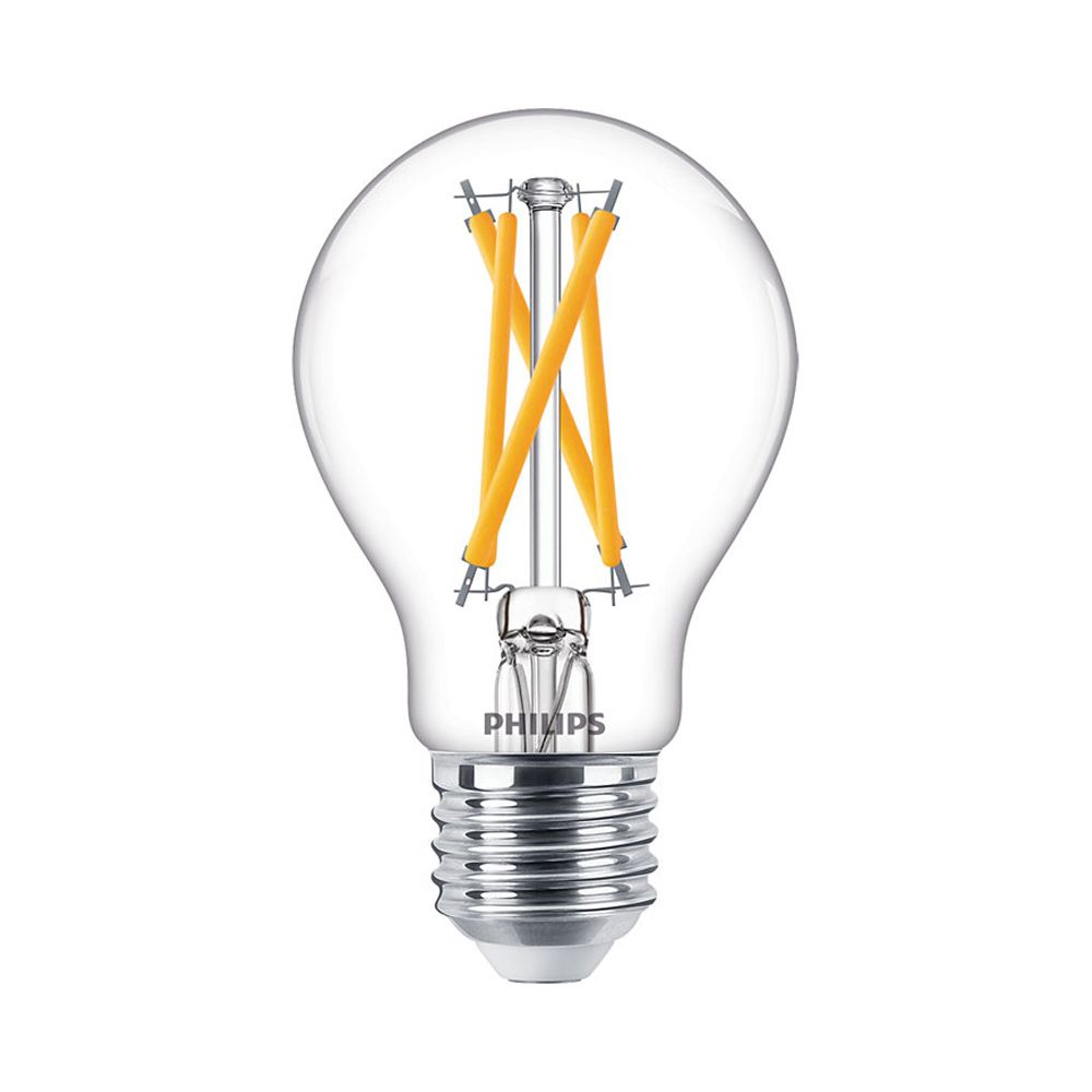 Philips Classic LEDbulb E27 A60 7W 927 806lm Filament | DimTone - Extra Warm White - Replaces 60W