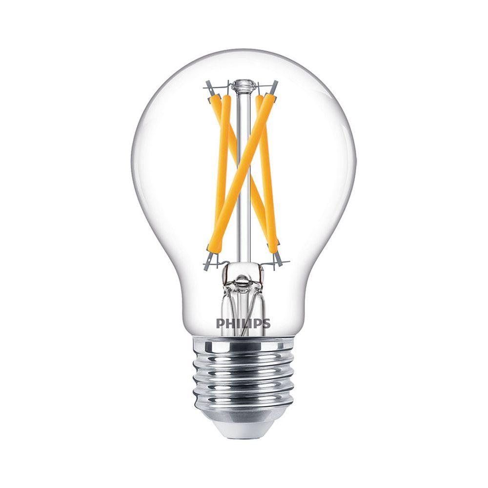 Philips Classic LEDbulb E27 A60 7W 927 806lm Filament | DimTone - Extra Varm Vit - Ersättare 60W