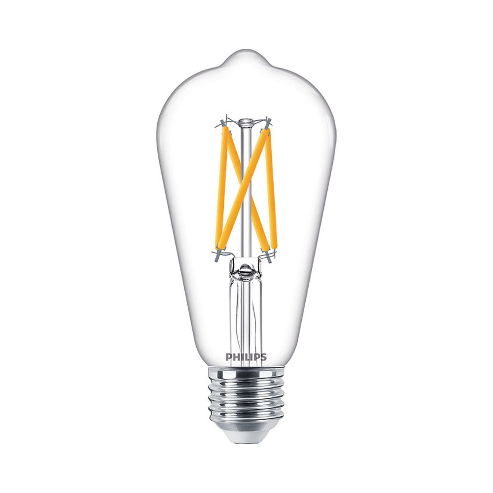 Philips Classic LEDbulb E27 ST64 7W 927 806lm Filament | DimTone - Extra Warm White - Replaces 60W