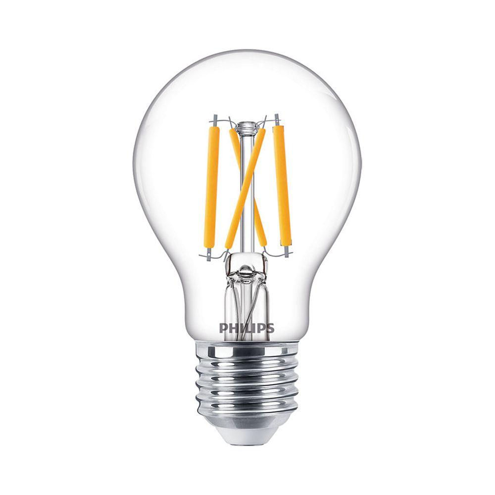 Philips Classic LEDbulb E27 A60 5W 927 470lm Filament | DimTone - Extra Varm Vit - Ersättare 40W