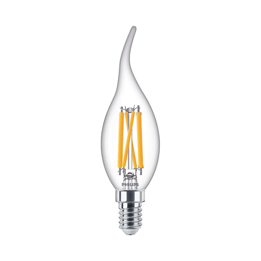 Philips Classic LEDcandle BA35 E14 4.5W 927 470lm |  | DimTone - Extra Warm White - Replaces 40W