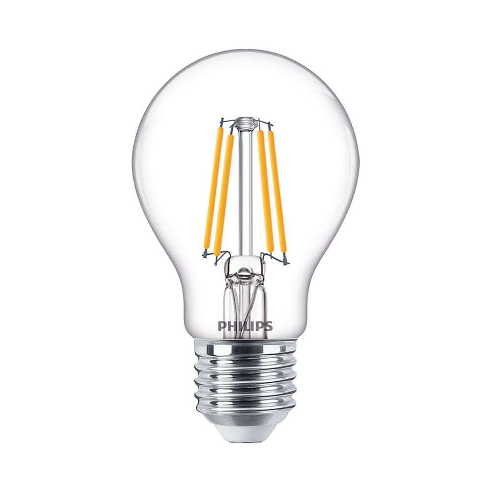 Philips Classic LEDbulb E27 A60 4.5W 827 470lm | Dimmable - Replacer for 40W