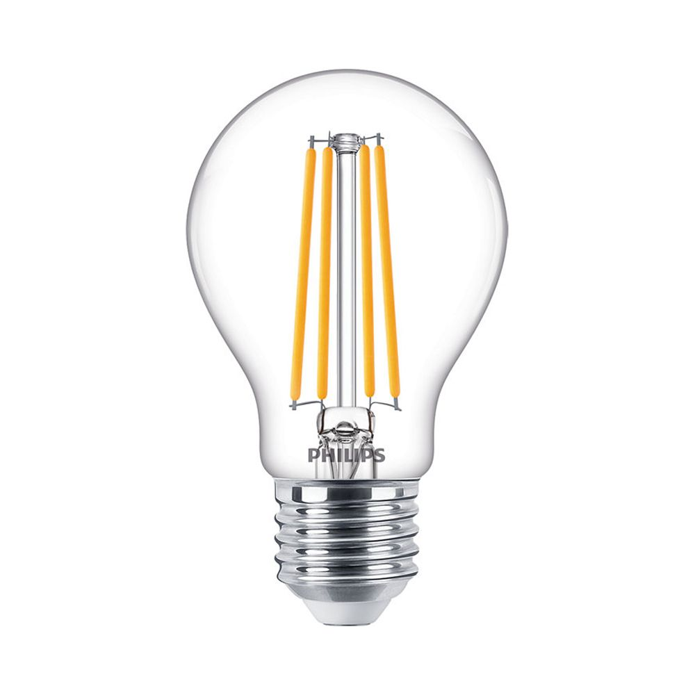 Philips Classic LEDbulb E27 A60 7.2W 827 806lm | Dimmable - Extra Warm White - Replaces 60W