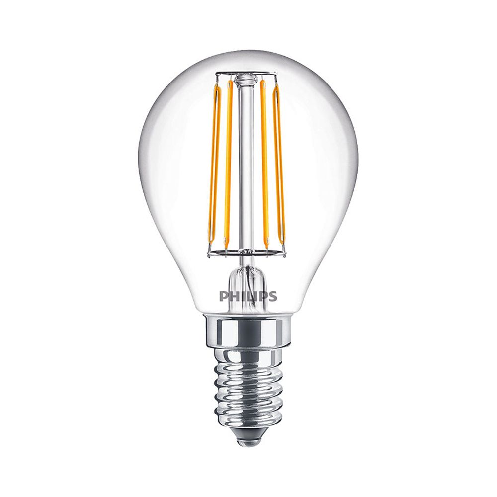 Philips Classic LEDlustre E14 P45 4.5W 827 470lm | Dimmable - Replacer for 40W