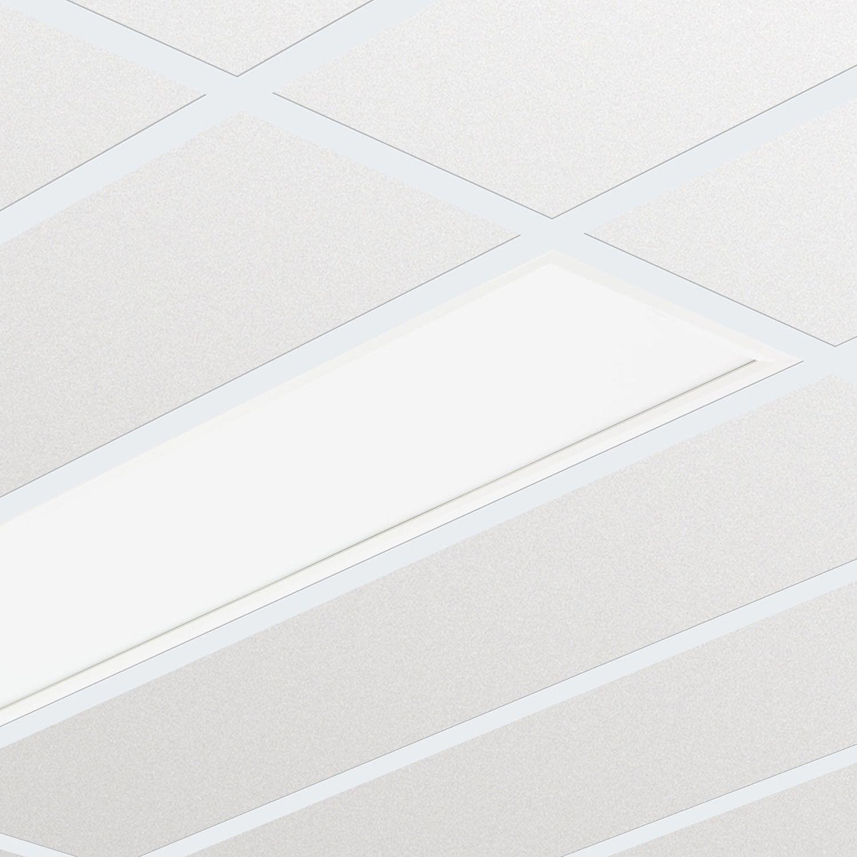 Philips Panel LED CoreLine RC132V G4 30x120cm 4000K 3600lm UGR <19 | Módulo de Emergencia 3H - Blanco Frio - Reemplazo 2x36W