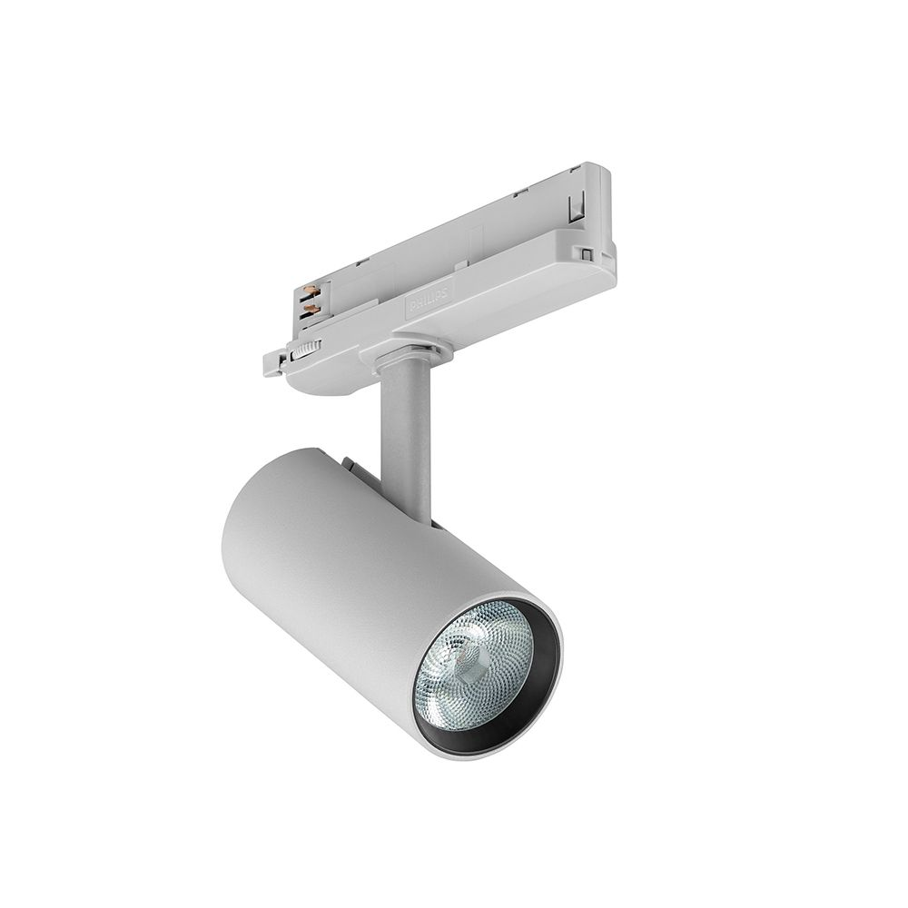 Philips LED Tracklight TrueFashion ST704T LED20S/PW935 PSU CLM18 Silver | Best Colour Rendering