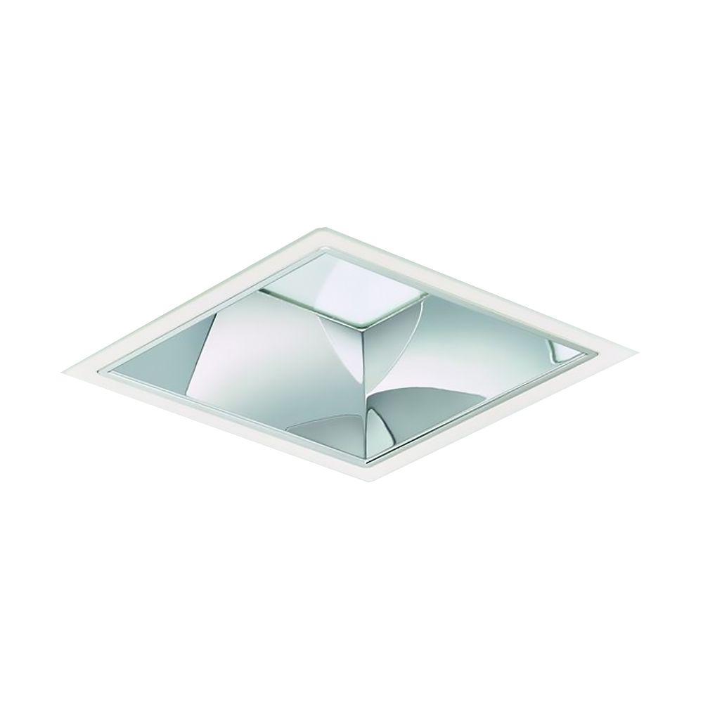Philips LED Alasvalo LuxSpace Squared DN572B LED24S/830 2400lm IP20 C ELP3 IA1 Valkoinen | Himmennettävä - Lämmin Valkoinen