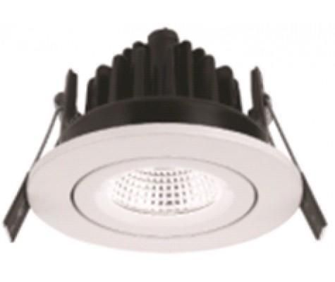 Noxion LED Spot Diamond IP44 2700K Aluminium | Dimmable