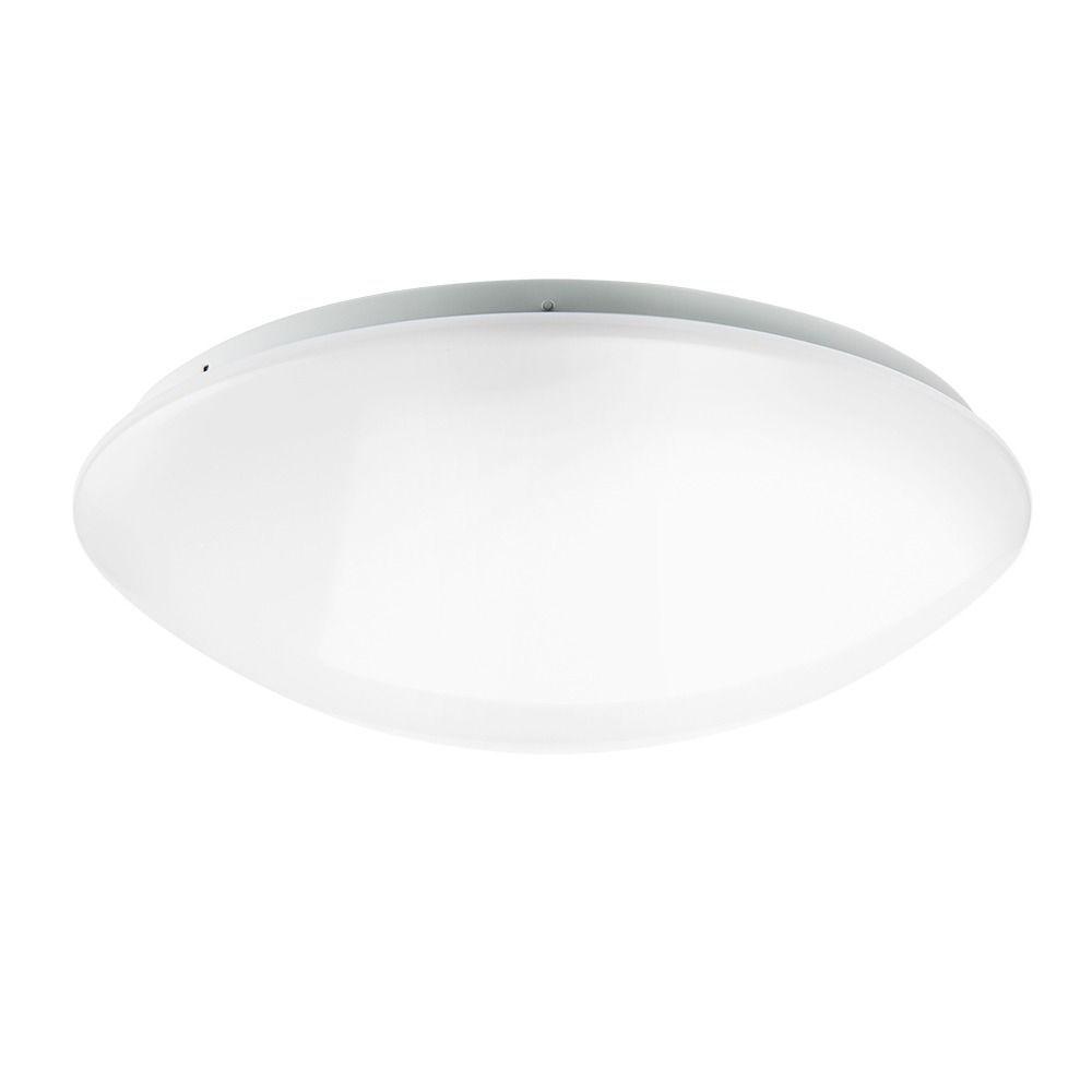 Noxion LED Bulkhead Corido Wall/Ceiling 22W 3000K | Warm White - Replaces 2x26W - Daylight Sensor