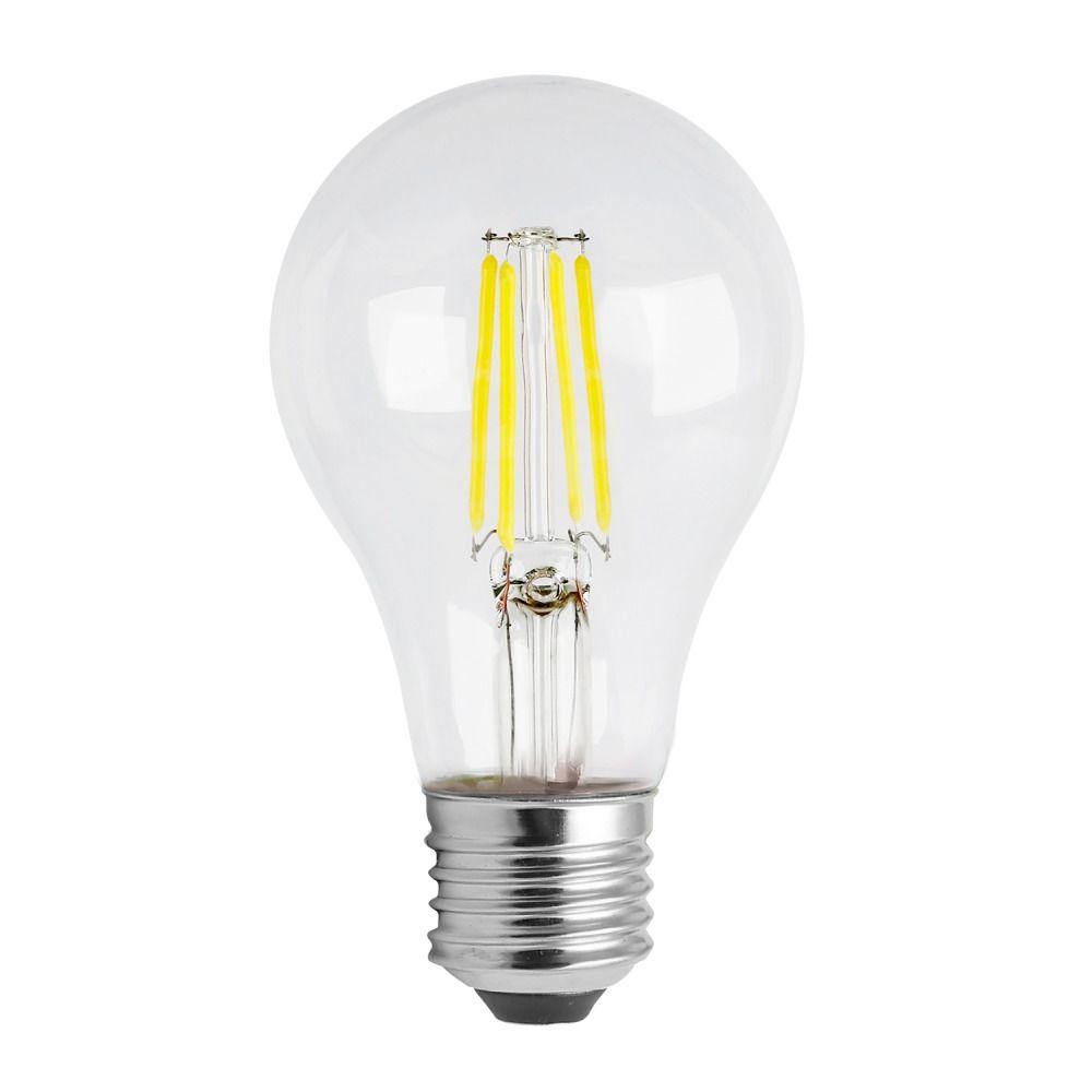 Noxion Lucent Classic LED Fadenlampe A60 E27 8W 822-827 Klar | Dimmbar - Ersatz für 60W