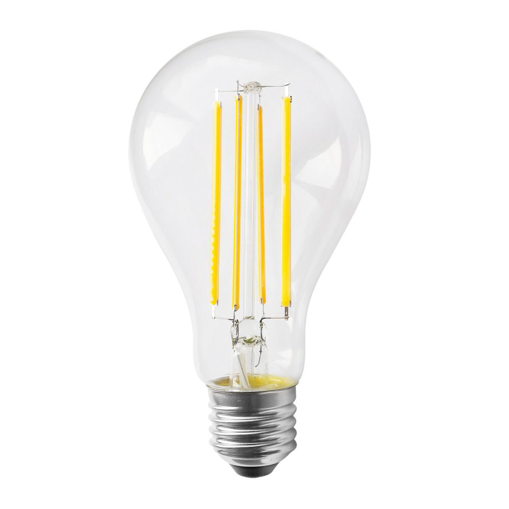 Noxion Lucent Classic LED Filament A70 E27 12W 827 Clear | Replacer for 100W