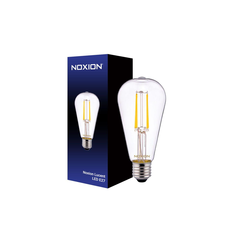 Noxion Lucent Classic LED Filament ST64 E27 4W 827 Claire | Blanc Très Chaud - Substitut 40W
