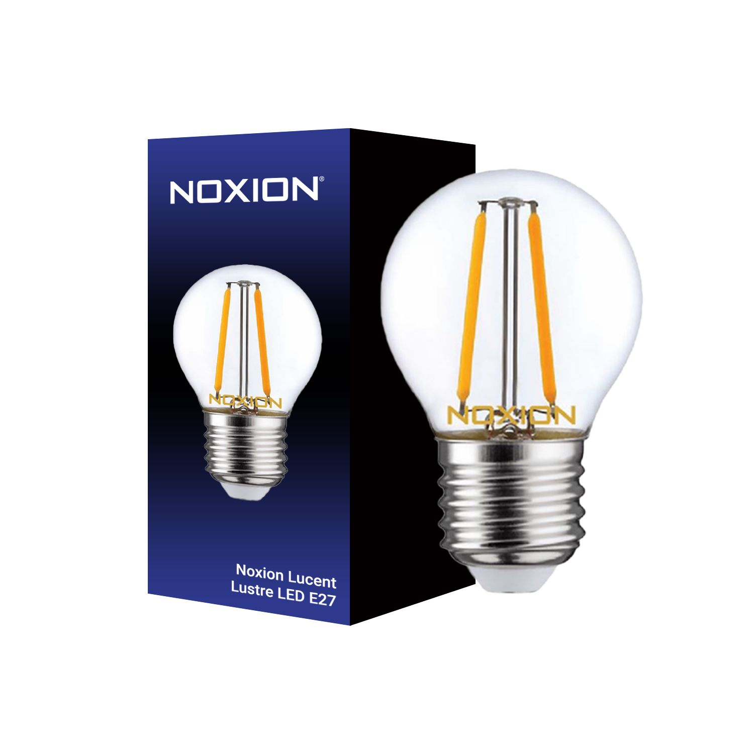 Noxion Lucent LED Lustre E27 2.5W 827 Filament | Extra Warm White - Dimmable - Replaces 25W