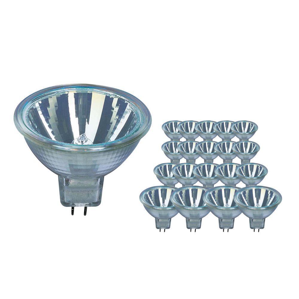 Lot de 20 Ampoules Halogènes Osram 44860 WFL 20W 12V GU5.3