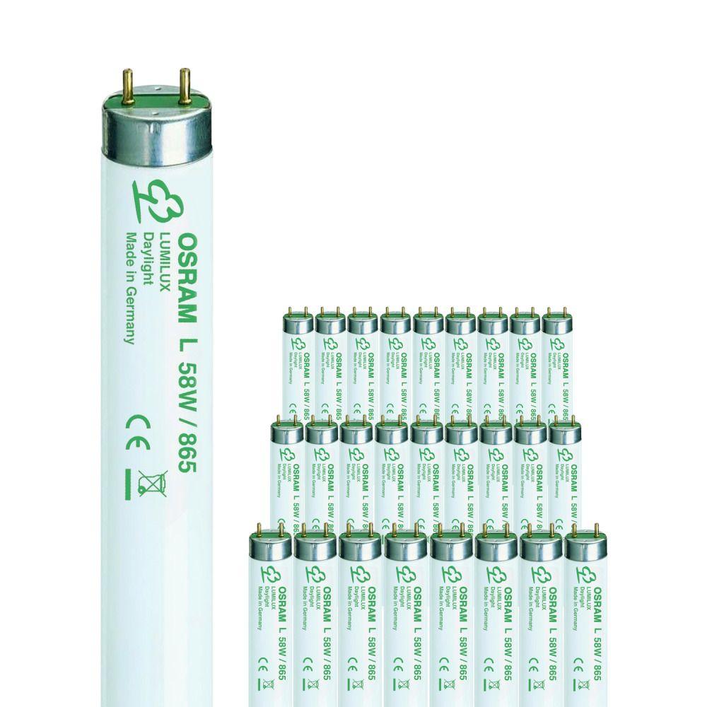 OSRAM Leuchtstofflampe LUMILUX T8, 58 Watt (865) VE=1