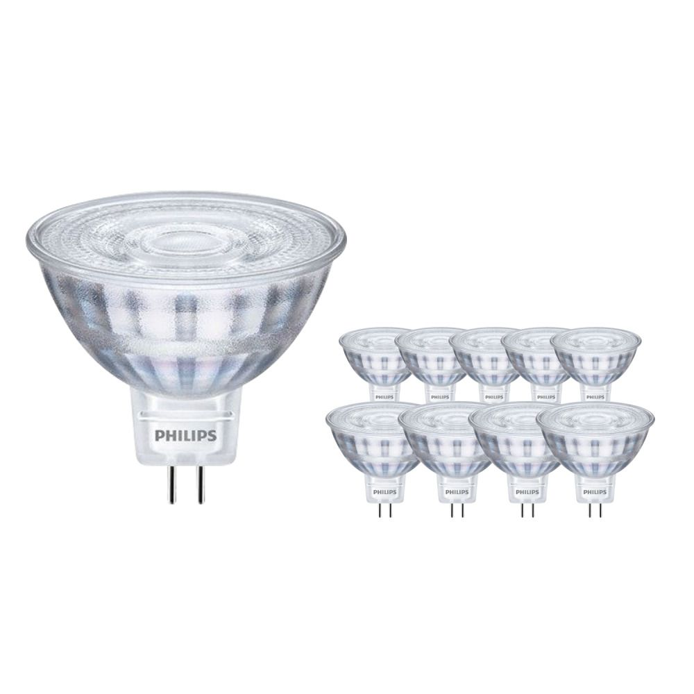 Mehrfachpackung 10x Philips CorePro LED Strahler ND 5-35W MR16 827 36D