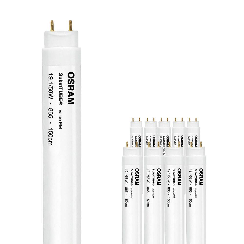 Multipack 10x Osram ST8S-1.5M 19.1W/865 220-240V