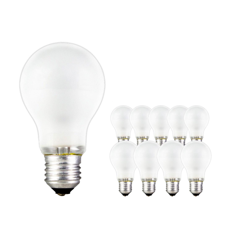 Multipack 10x Standard Glühlampe Matt A55 E27 150W 230V
