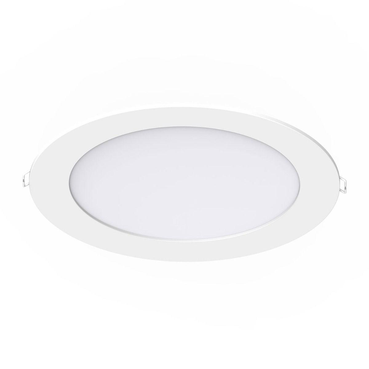 Noxion LEDDownlight SlimV2.0IP44 24W3000K Uitsnijden Ø200mm w/ DALI
