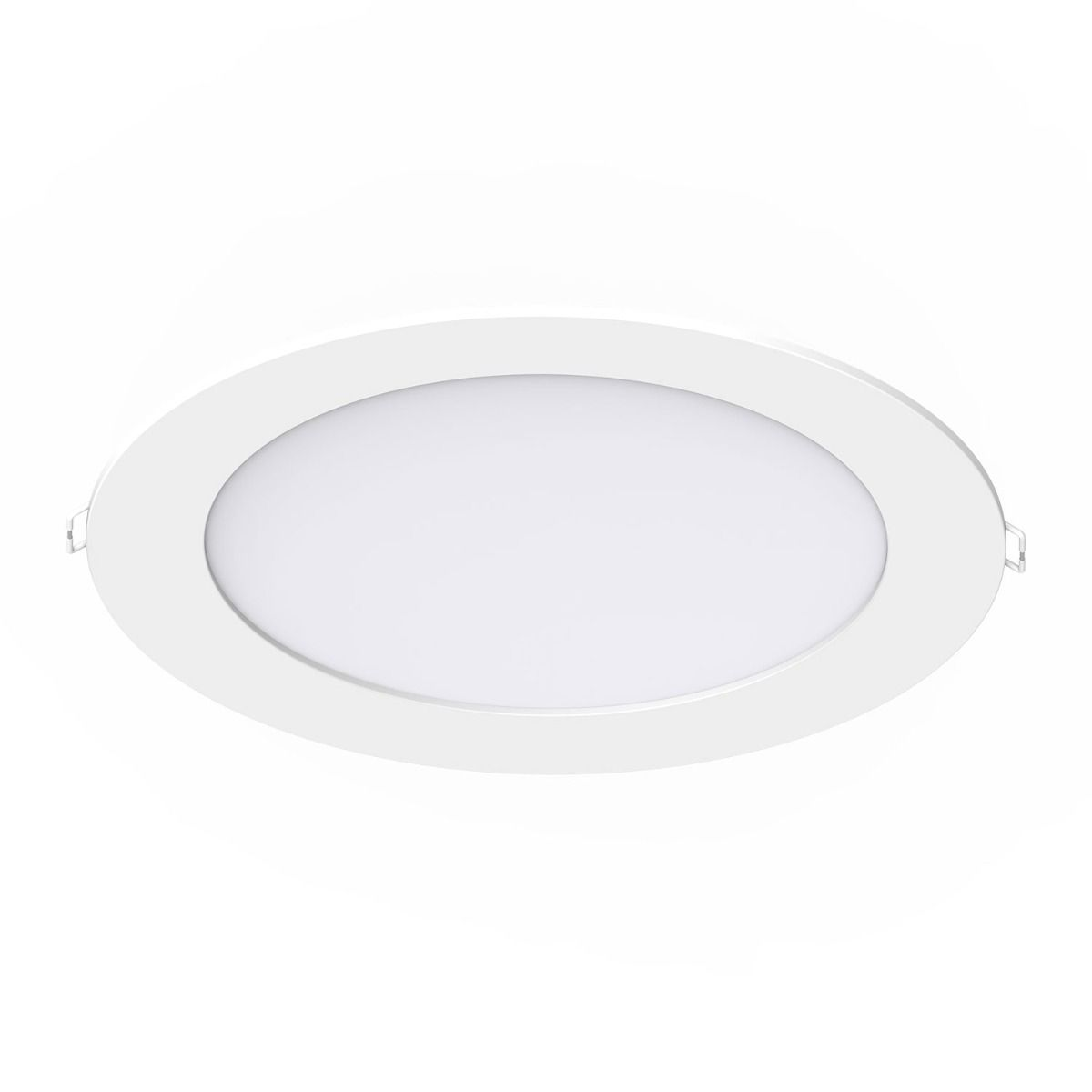 Noxion LED Downlight Slim V2.0 IP44 20W 3000K Utskärning   Ø200mm w/ 1-10V driver