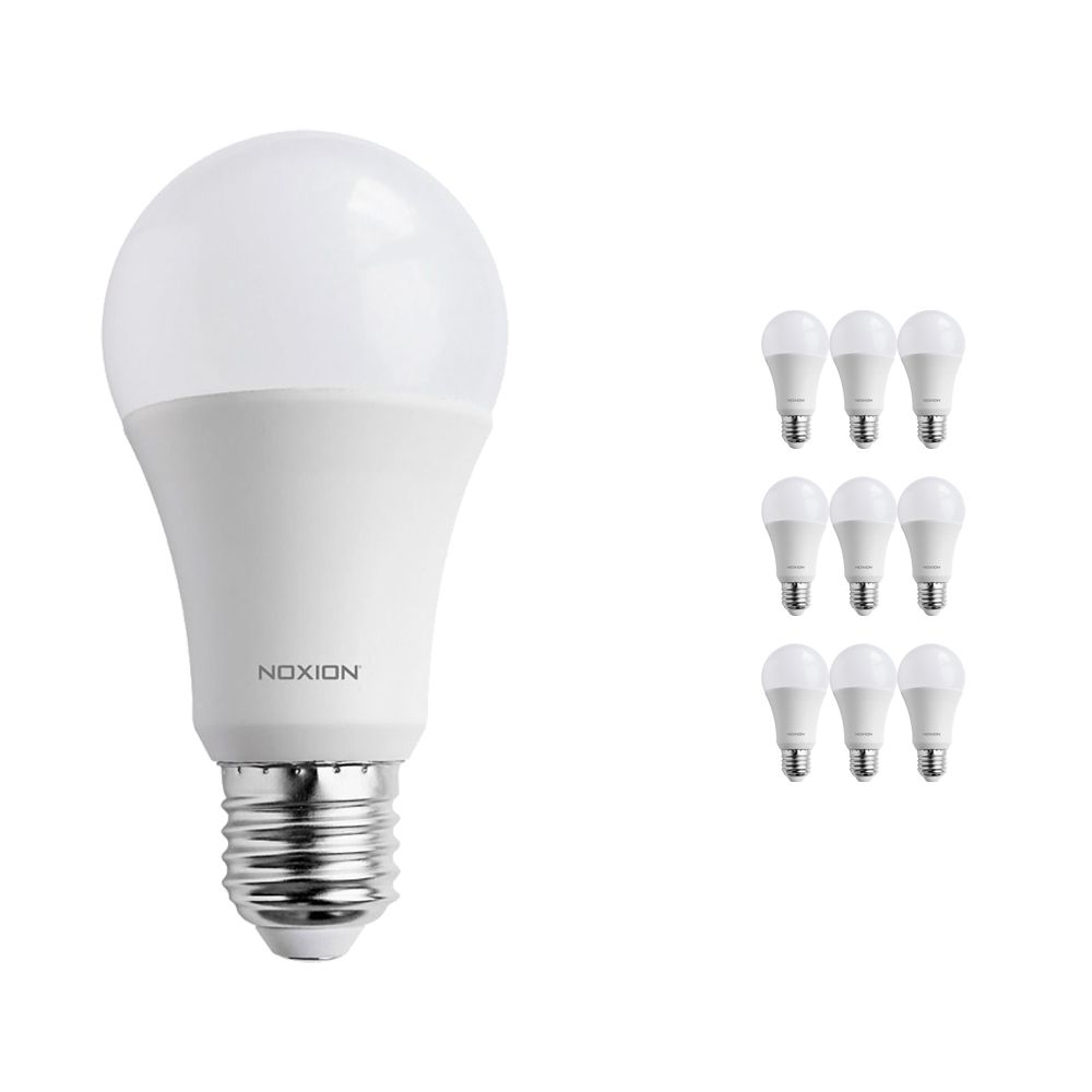 Multipack 10x Noxion PRO LED Bulb A60 E27 15W 827 Matt | Replacer for 100W