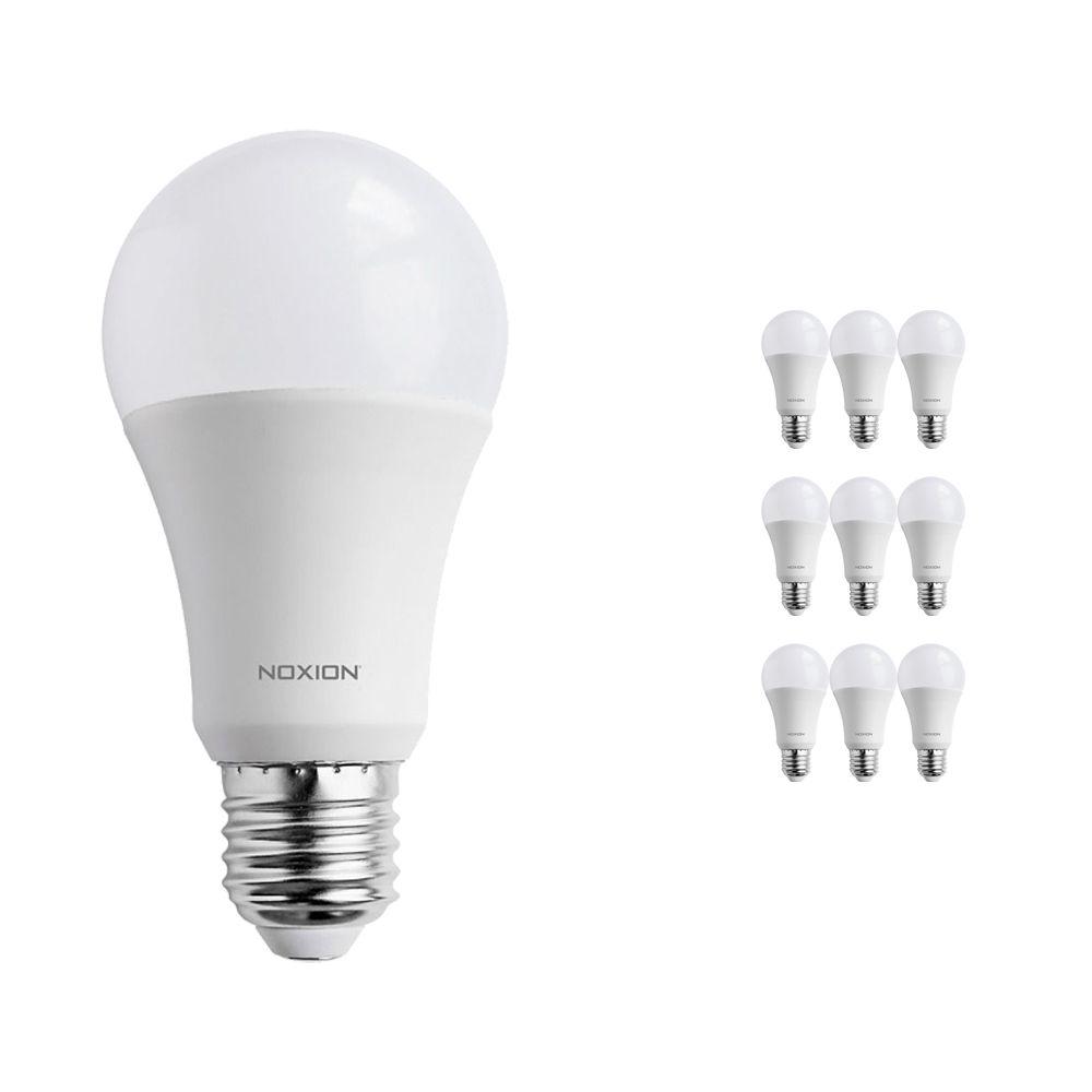 Flerpack 10x Noxion PRO LED Bulb A60 E27 15W 827 Matt | Extra Varm Vit - Ersättare 100W
