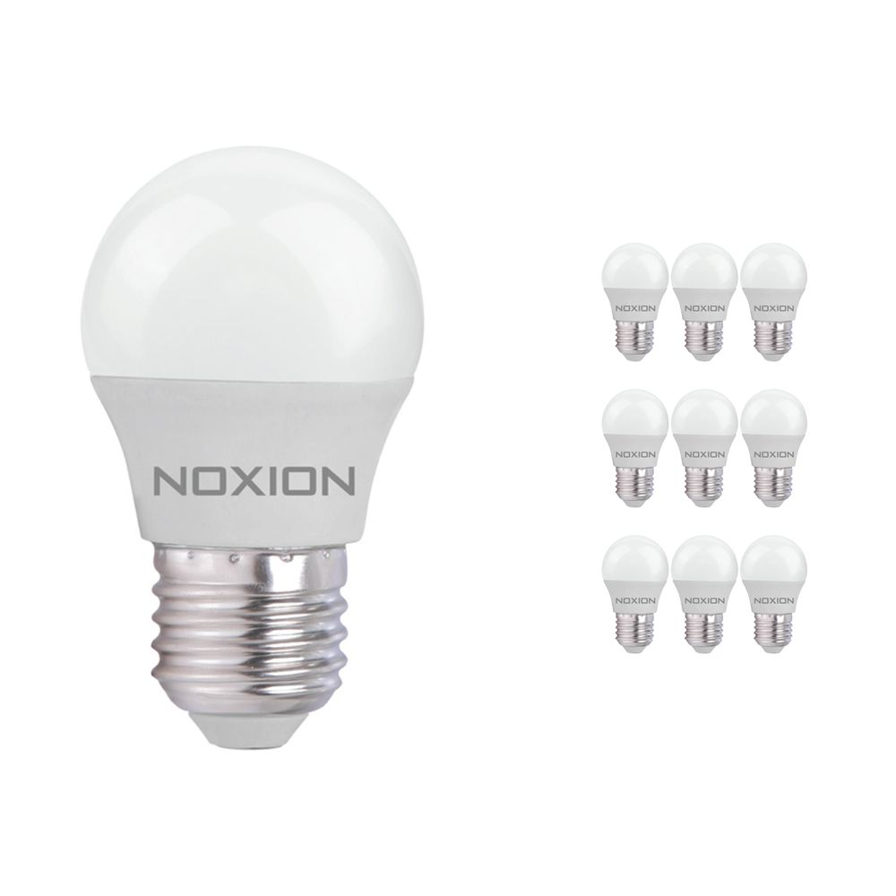 Multipack 10x Noxion Lucent LED Classic Lustre E27 3W 827 | Replacer for 25W