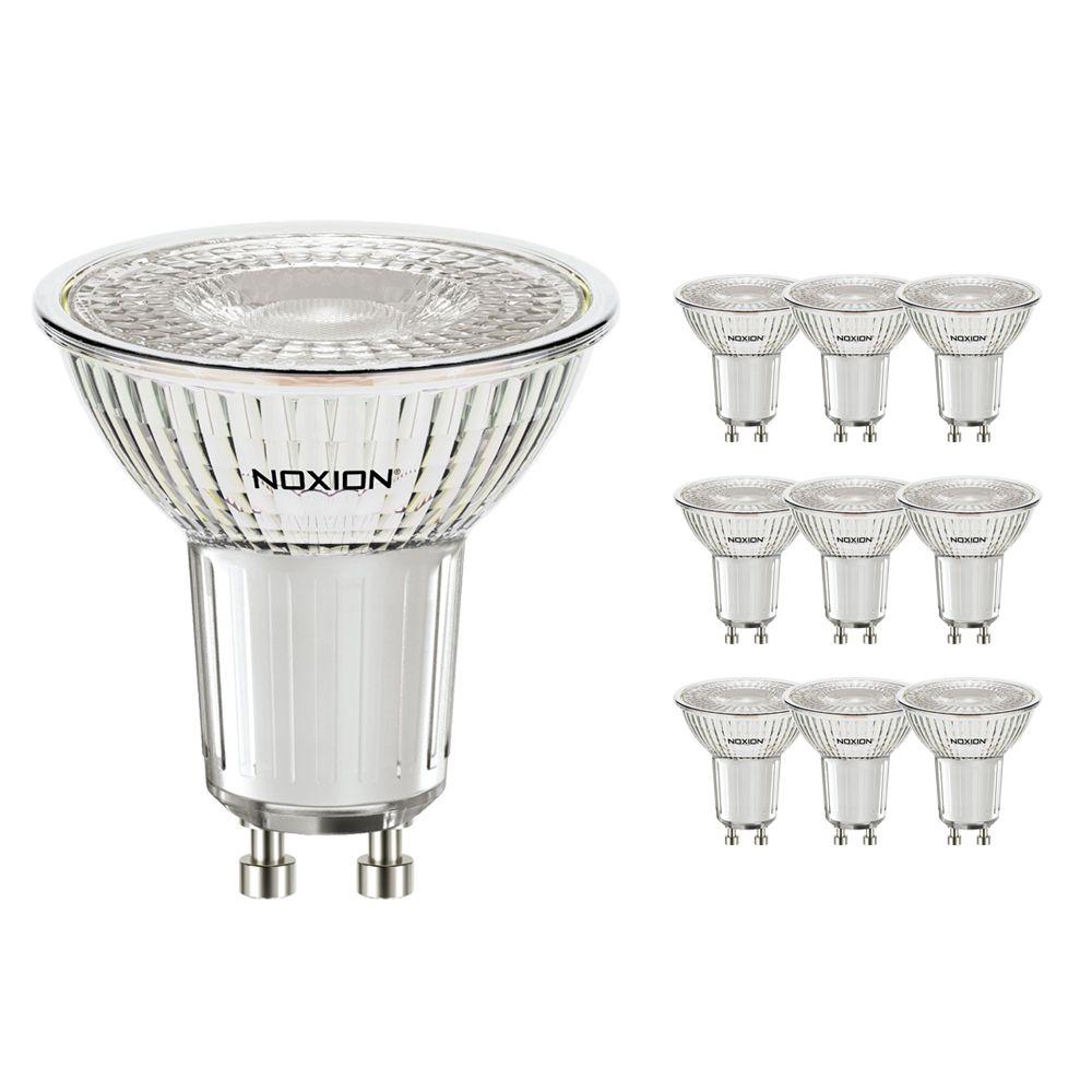Multipack 10x Noxion LEDspot PerfectColor GU10 4W 927 36D | Luz muy Cálida - Regulable - Reemplazo 35W